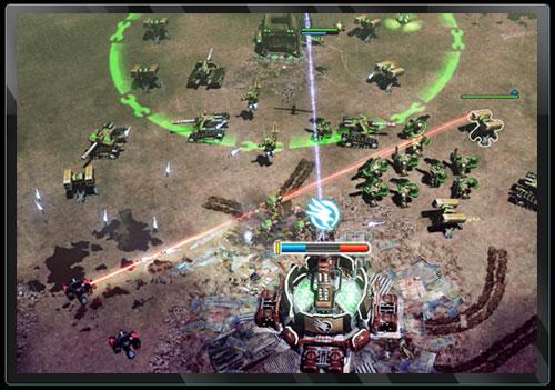Command & Conquer 4 - Recon Drone. Увеличение мощности турелей GDI