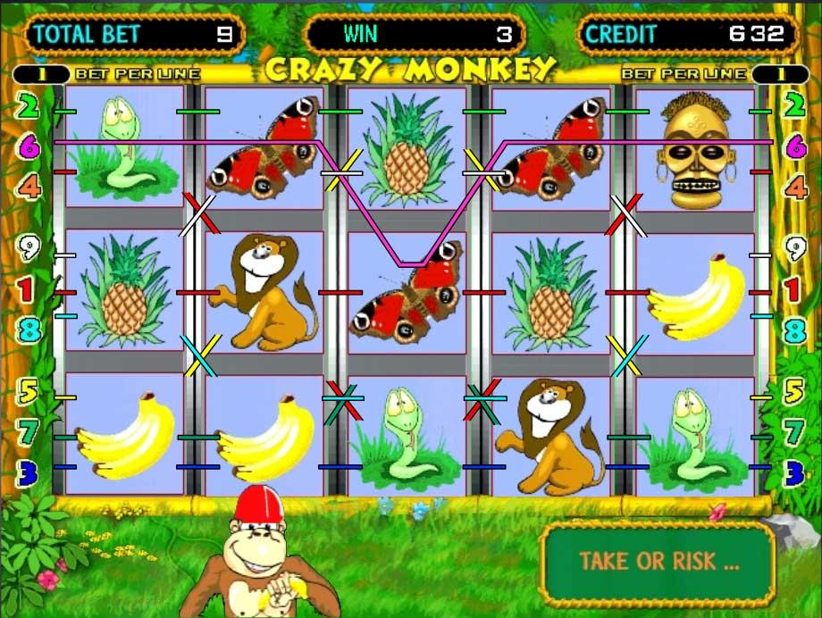 игровые автоматы на реальные деньги обезьянки