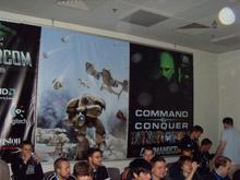 Зал CommandCom, в котором выступали разработчики